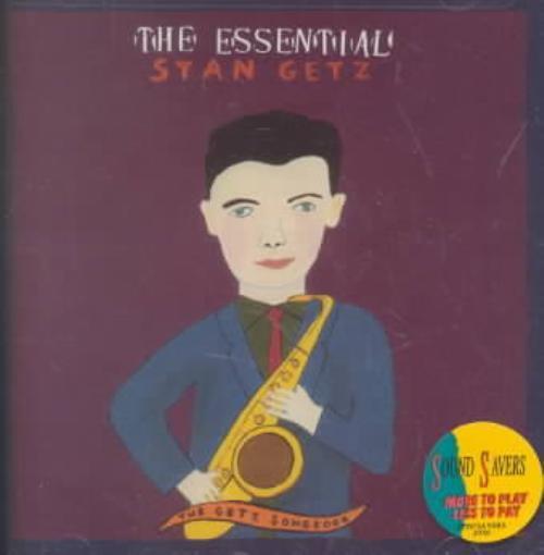 STAN GETZ (SAX) - THE ESSENTIAL STAN GETZ: THE GETZ SONGBOOK NEW CD