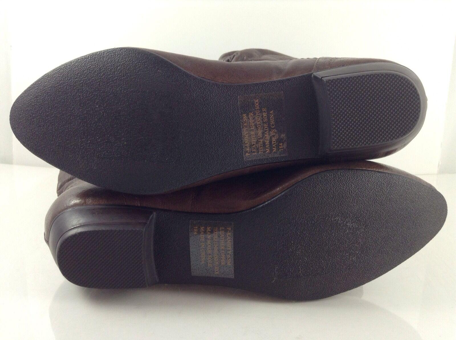 Steve Madden damen damen damen braun Leather Stiefel 6.5 M c4720a