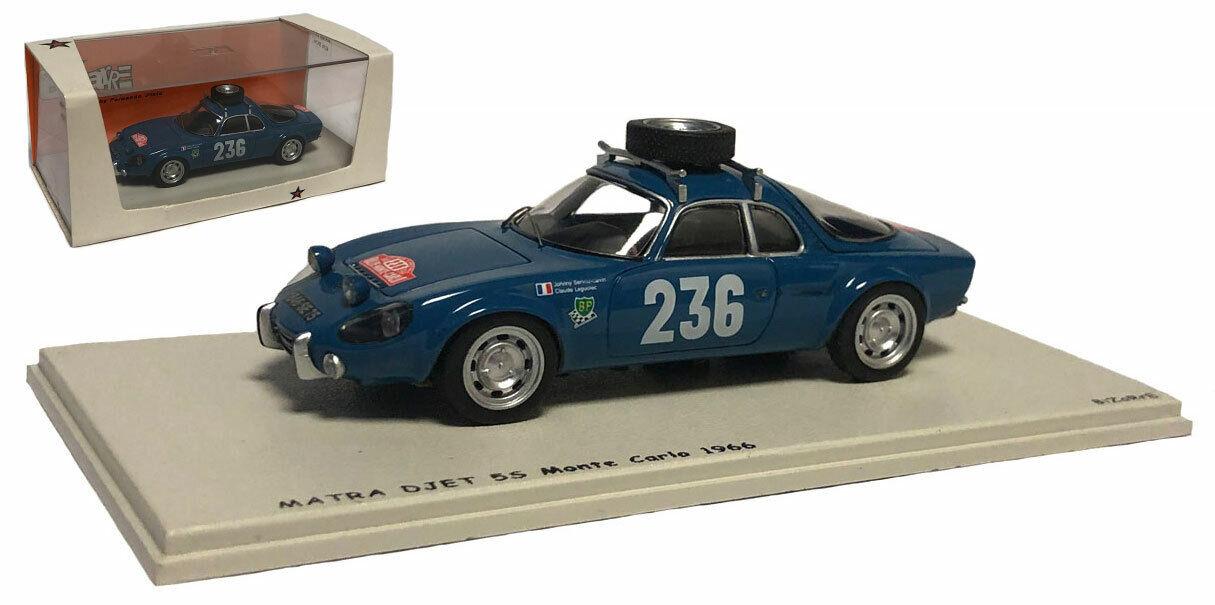 Bizarre BZ309 Matra Djet 55  236 Monte Carlo 1966 - J Servoz-Gavin 1 43 Scale