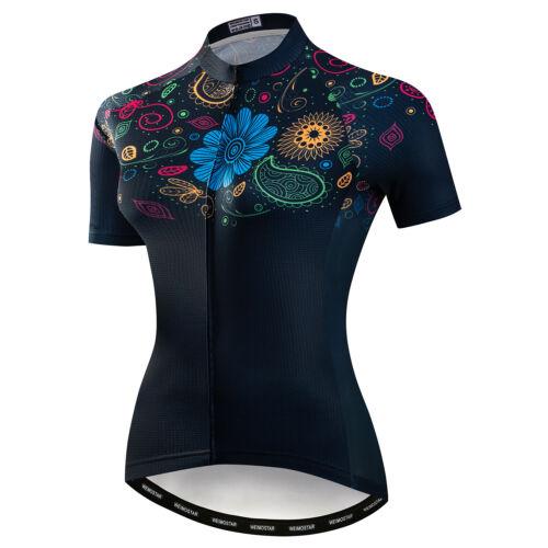 Bike Women Racing Cycling Jersey T-Shirt Tops Quick Dry Short Sleeve Clothing