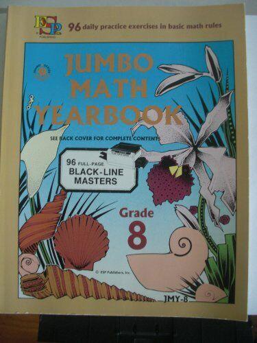 Jumbo Math Yearbook Grade Eight   Blackline Master  B-Jmy-8