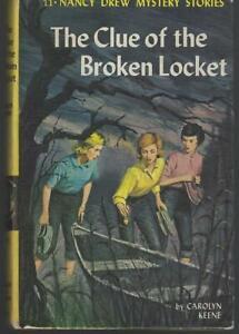 Clue-of-the-Broken-Locket-by-Carolyn-Keene-Nancy-Drew-Series-11-1965-Matte