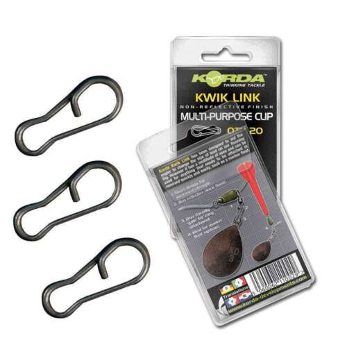 All Sizes Available Korda Kwik Link Multi Purpose Clip