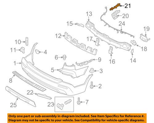 KIA OEM 11-13 Sorento Rear Bumper-Side Bracket Right 866621U000