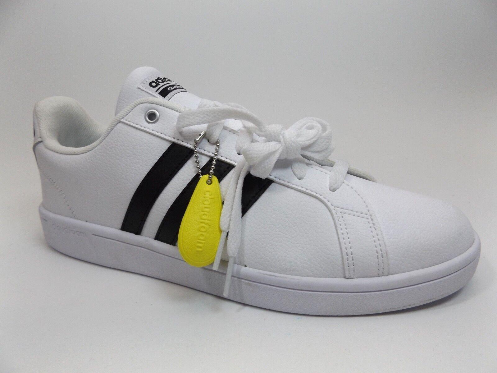 8e91150f4 Men Adidas Cloudfoam Advantage Fashion Sneaker SZ 11.5 M White NEW DISPLAY  D9461