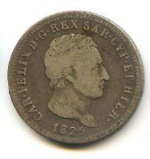 ITALIE - SARDAIGNE CARLO FELICE 2 LIRES 1825 TURIN