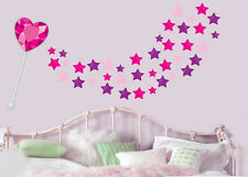 Fairy Wand Magic Spell with Stars - Wall Art Stickers Transfers Murals Decals