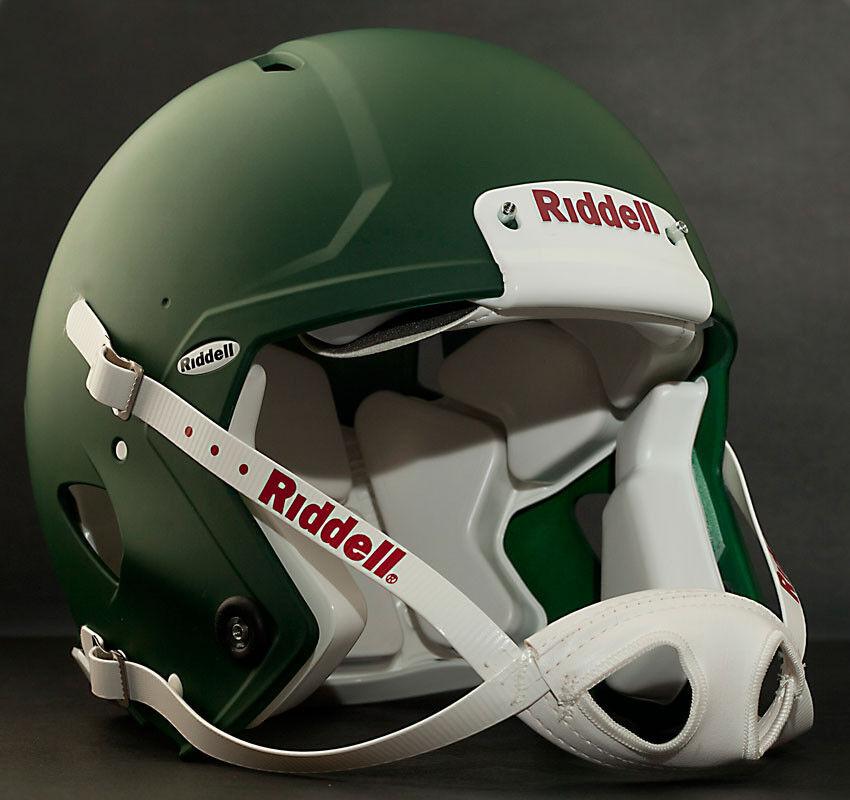 Riddell Revolution SPEED Classic Football Helmet (color  MATTE DARK GREEN)