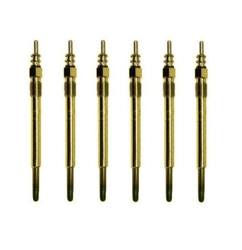 6 X MONARK Glühkerze für CHRYSLER 300 C  3.0 CRD  Glühstift  glow plug
