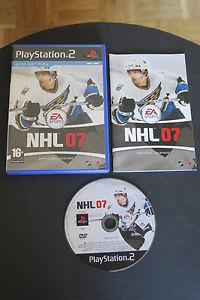 PS2 : NHL 07 - Completo ! Il gioco ufficiale della NHL ! L'hockey su Playstation
