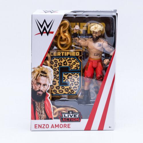 Mattel fmj12 WWE Superstars figurine 19 cm mobiles catcheur ENZO Amore