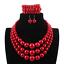 Women-Bohemian-Choker-Chunk-Crystal-Statement-Necklace-Wedding-Jewelry-Set thumbnail 155