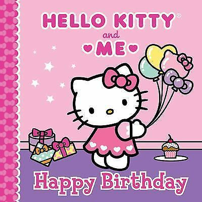 Happy Birthday: Hello Kitty & Me-ExLibrary