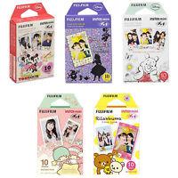 Mickey, Alice, Pooh, Twin Stars, Rilakkuma Fujifilm Instax Mini Film 50 Photos