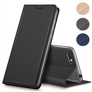 Handy-Huelle-Huawei-Y5-2018-Book-Case-Schutzhuelle-Tasche-Slim-Flip-Cover-Etui