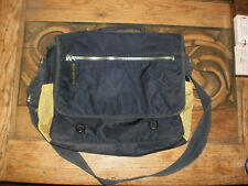 Polo Jeans Co, appx. 16 x 12 x 4 blue and yellow lap top bag w/ carry strap