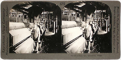 Pittsburgh Keystone Stereoview Pig Iron Machines PA from 1910's Education #63