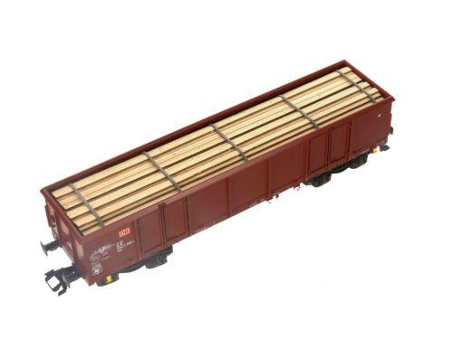 Modelo ferroviario Unión mu-h0-f00016 h0 enormemente gesägte tablones Hell 144 x 30 mm