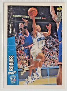 nba UPPER DECK 1996  MUGGSY BOGUES  HORNETS Basketball Card #18 MINT