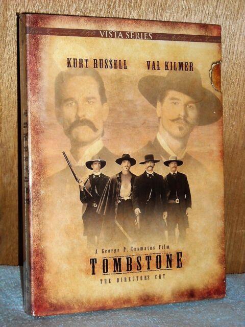 Tombstone (DVD, 2002, 2-Disc, Vista Series Directors Cut) Val Kilmer western