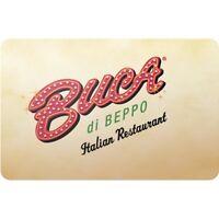 $20 Buca di Beppo Pre-Owned Gift Card