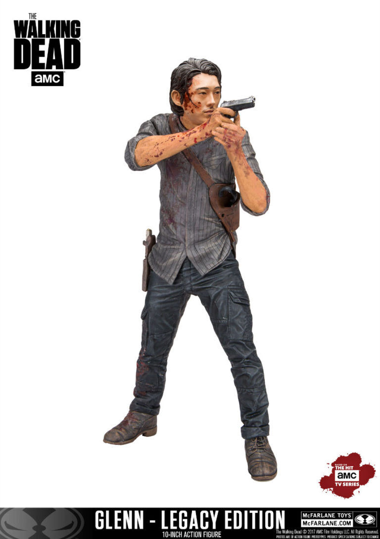 The WALKING DEAD  GLENN DELUXE 1 7 Action Figure 10  McFARLANE TOYS