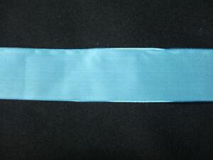 100% Vrai Ancien Gros Ruban Bleu, Mercerie - Linge Ancien RafraîChissant Et Enrichissant La Salive