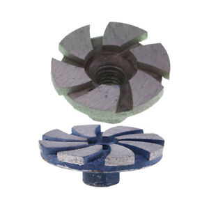 2Pack Concrete Turbo Diamond Grinding-Wheel Disc Grinder Cup Wheel For Angle