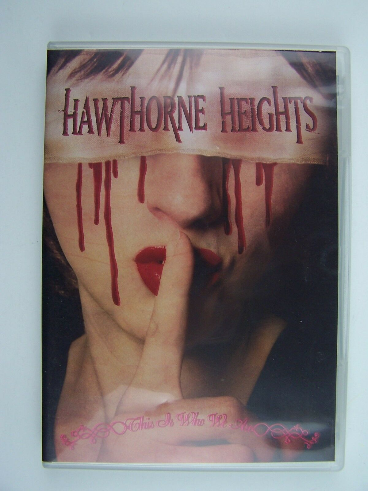 Hawthorne Heights This Is Who We Are DVD 746105028890