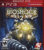 Bioshock 2 (sony Playstation 3, 2010) Brand Greatest Hits