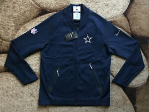 Image is loading Nike-Therma-Dallas-Cowboys-Coaches-Sideline-Jacket-Mens- 180c1700a