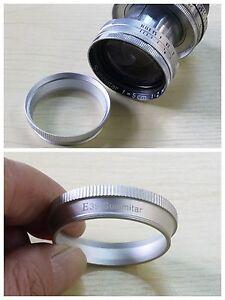 Leica-E39-Filter-to-50mm-f-2-0-Summitar-Lens-SNHOO-Adapter-Ring