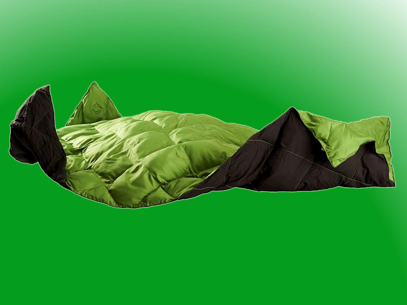 Nordisk ekeblad Leisure-Pack bare fibre sintetiche-coperta, ultraleggero & compatto