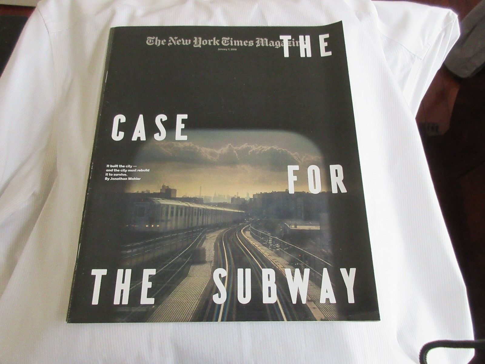 NYC's Subway , The Case For The Subway , New York Times