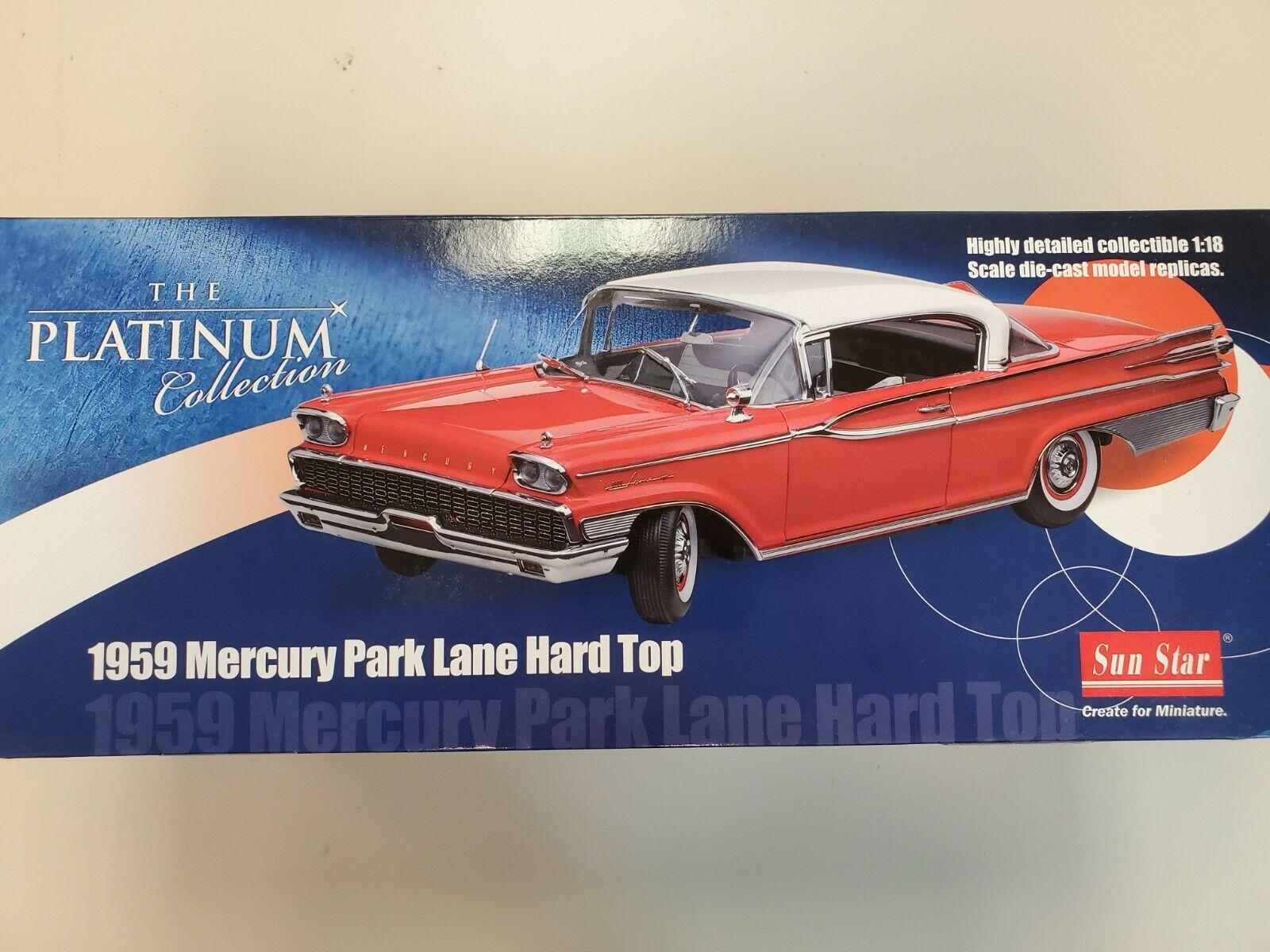 Seleccione de las marcas más nuevas como 1959 Mercury Parque Lane Lane Lane Duro Top de la colección de platino  de moda