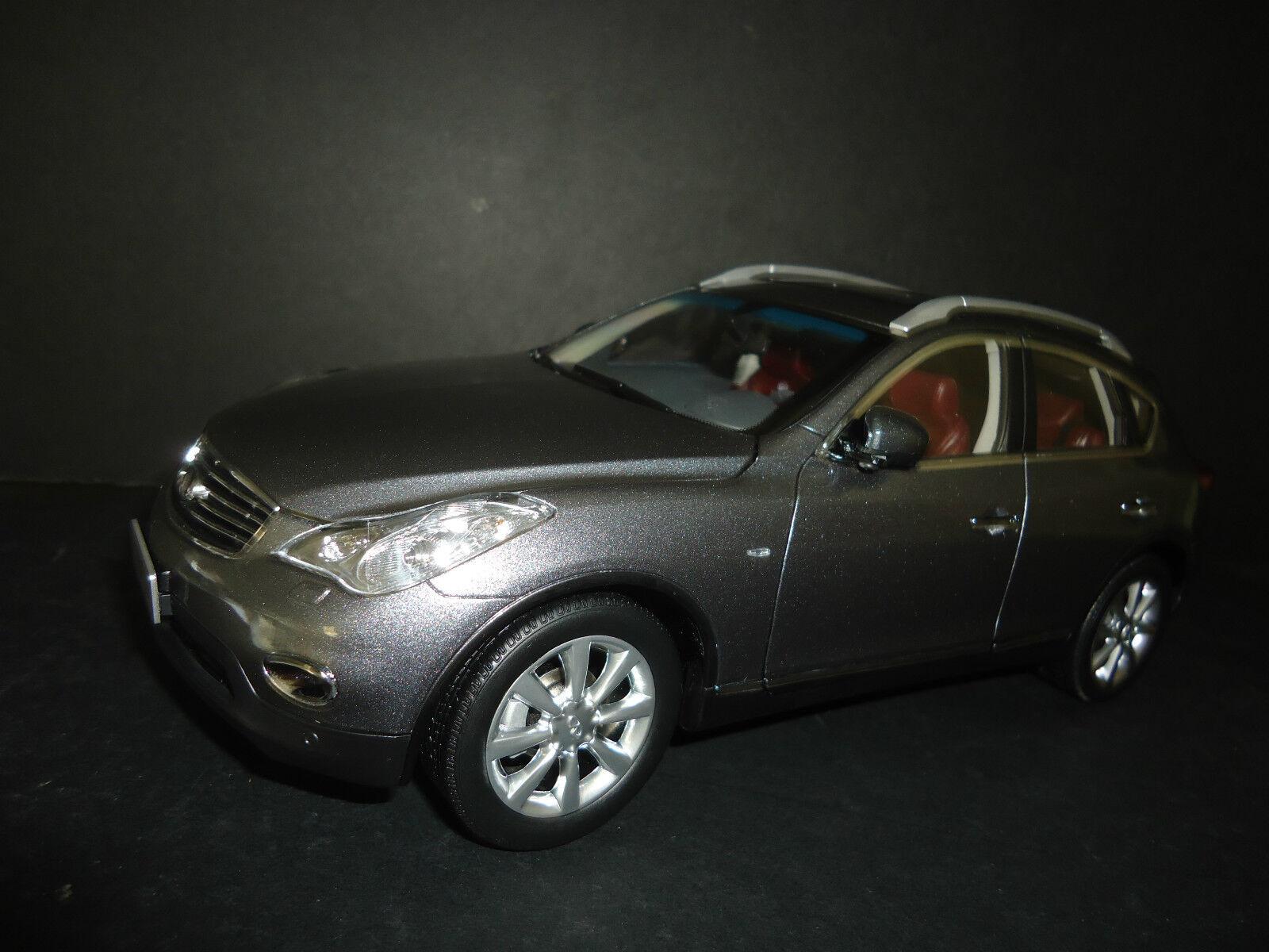 en promociones de estadios Paudi Infiniti EX25 EX25 EX25 2012 gris 1 18 Alta Calidad Modelo  100% garantía genuina de contador