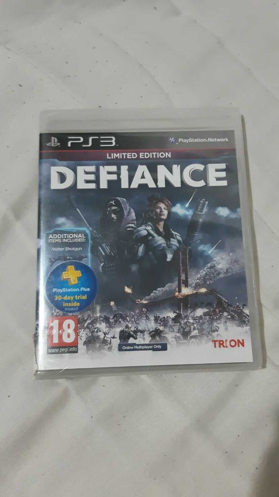 [PS3] Defiance Limited Edition (PAL) New & Sealed!