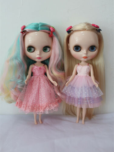 """12/"""" Neo Blythe doll outfits from factory gallus princess dress hand made clothes"""