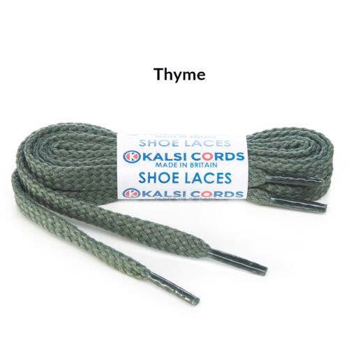 FLAT SHOELACES 1 PAIR OF STRONG HIGH QUALITY SNEAKER TRAINER BOOT SHOE LACES 9mm