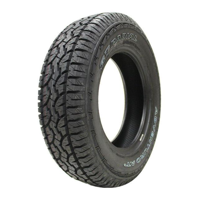 31X10.50R15LT 109S GT Radial ADVENTURO AT3 OWL All-Terrain Radial Tire