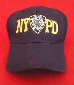 NYPD New York Police Department City Of New York Hat Baseball Cap  aaff5bc2552