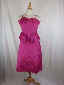 Flirtations By Alfred Angelo Prom Formal Hot Pink Usa Short Dress Xs