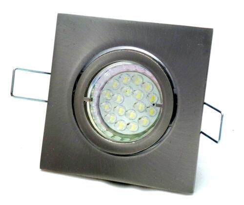 Einbaustrahler Louis 230V Bajonettverschluß 20er Led 1,5Watt = 20Watt Lampe