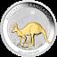 2019 Australian Kangaroo 1oz Silver Gilded Edition Coin