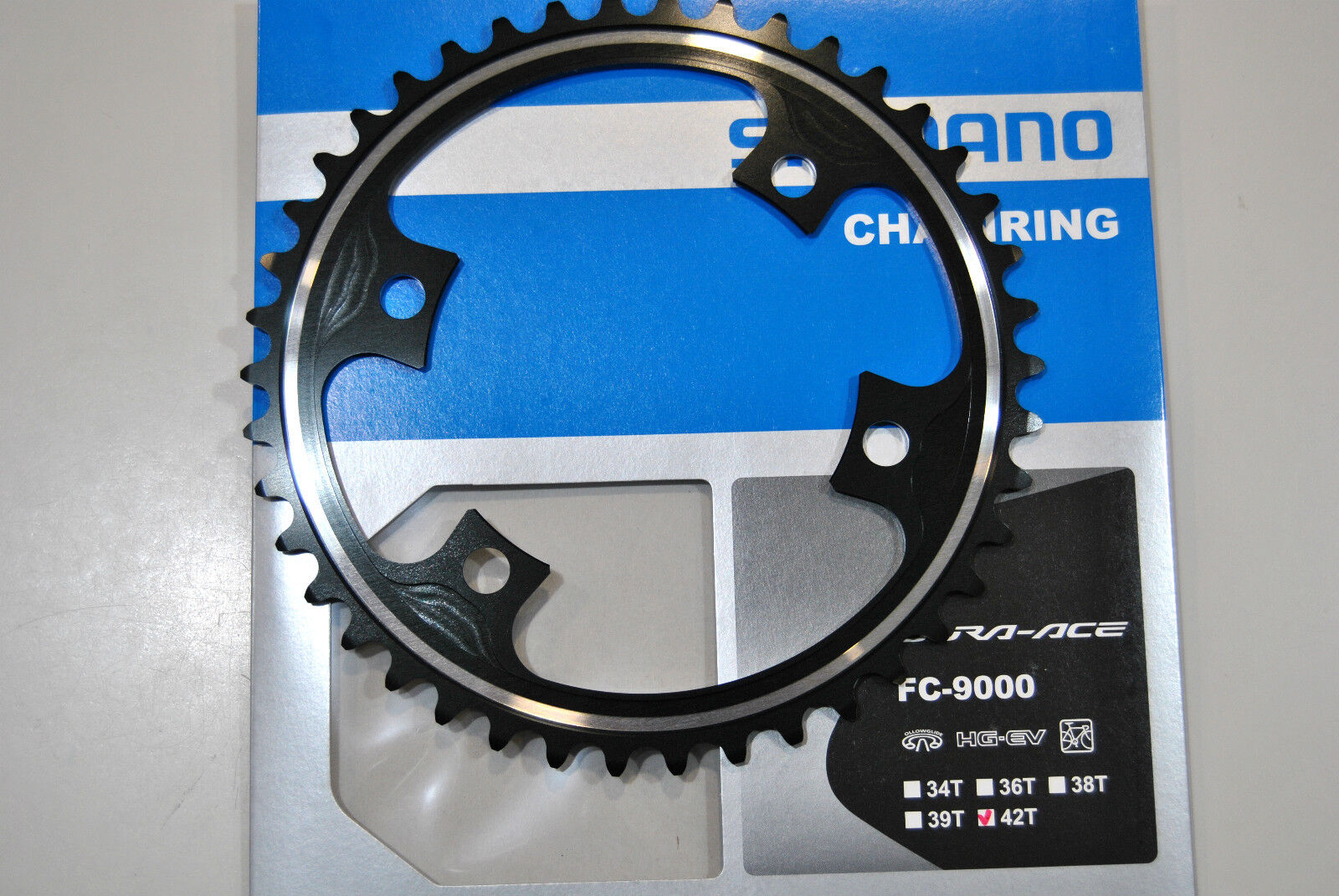 Cgoldna SHIMANO DURA ACE 42T ME FC-M9000 ( 55 54x42 ) CHAINRING SHIMANO 42T ME FC