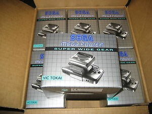 Sega-Super-Wide-Gear-officiel-Neuf-pour-Game-gear