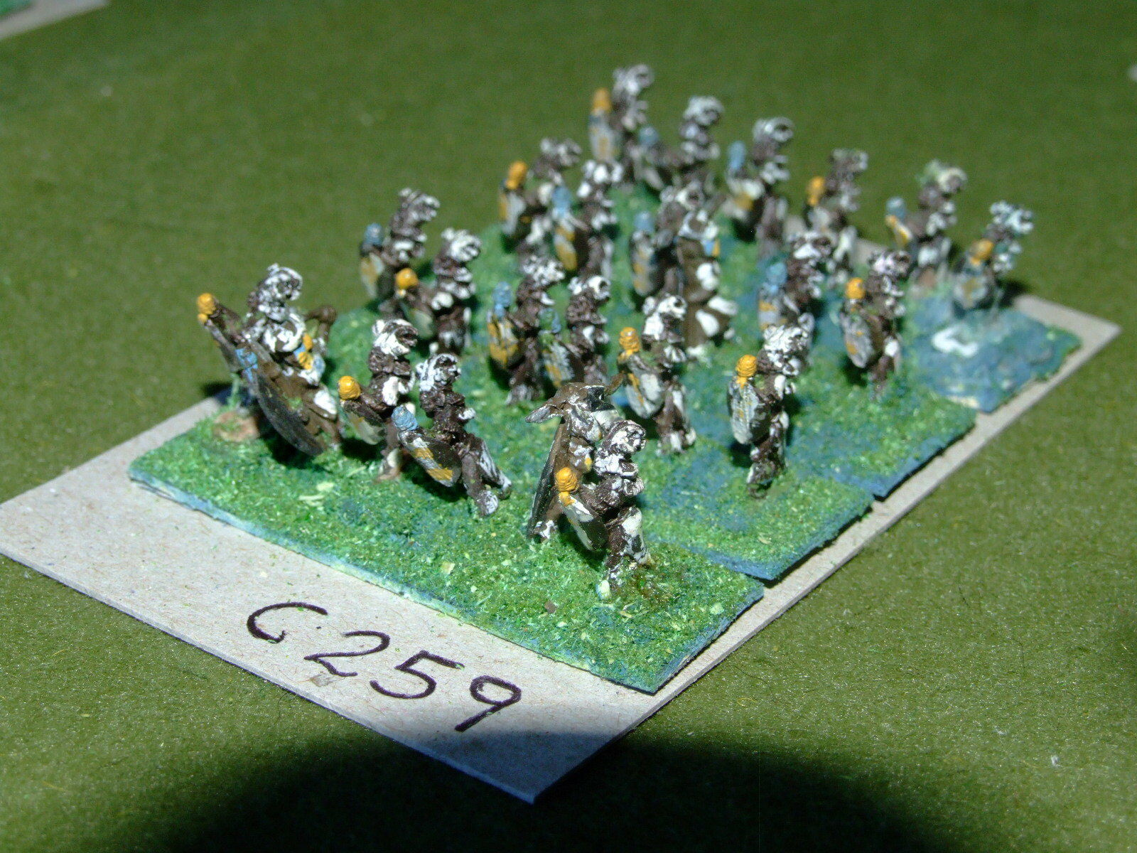 15mm colonial   zulu - 24 Infantry - inf (CL259)
