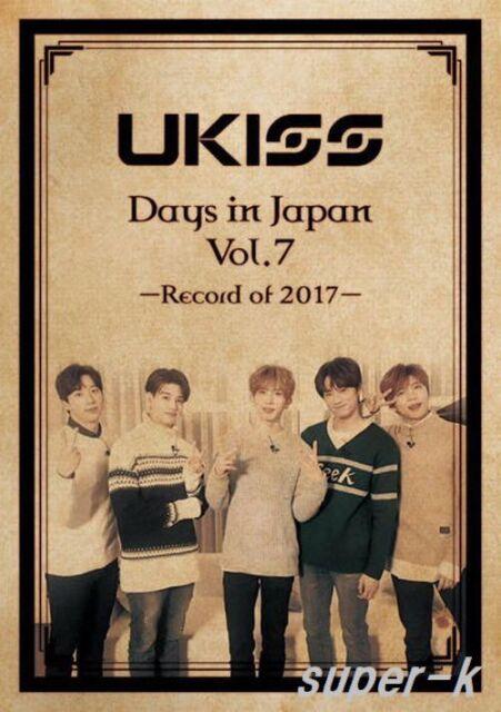 U-KISS Report movie [Days in Japan vol.7] (DVD) Japan ver.