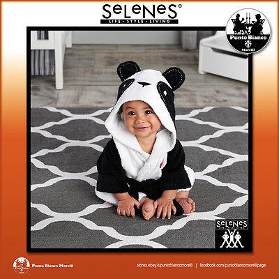 Selenes   Animals Accappatoio Bimbo Con Cappuccio - Hooded Bathrobe For Baby