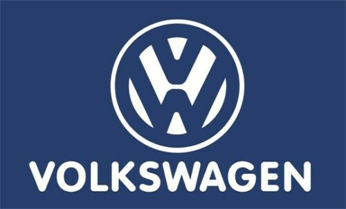 BLUE Fast Free Shipping VOLKSWAGEN  VW 3/'x5/' Flag Banner